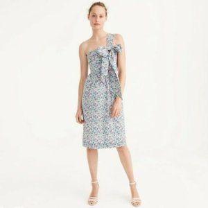J. Crew Liberty Floral Print Claire Aude Dress